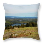 Over The Horizon Throw Pillow