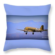 Over The Hump Throw Pillow