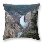 Over The Rail Throw Pillow