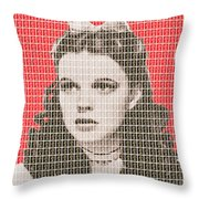Over The Rainbow Red Throw Pillow
