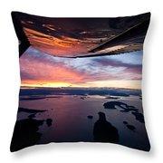 Over The San Juans Throw Pillow