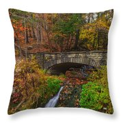 Over The Stream Throw Pillow