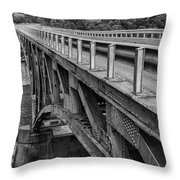 Over Troubled Water Throw Pillow