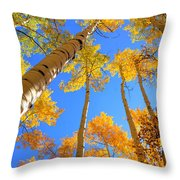 Over Your Head Throw Pillow