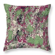 Overactive Christmas Celebration - V1cp100 Throw Pillow
