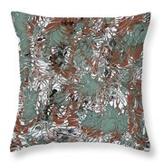 Overactive Christmas Celebration - V1slf100 Throw Pillow