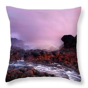 Overcome By The Tides Throw Pillow
