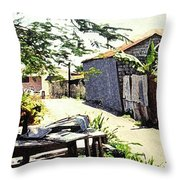 Overdene  Throw Pillow