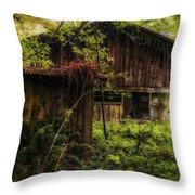 Overgrown Throw Pillow