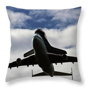 Overhead Discovery Throw Pillow