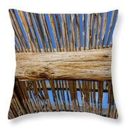 Overhead Shelter Throw Pillow