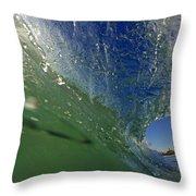Overhead Wave Throw Pillow