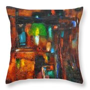 Overlighting Throw Pillow