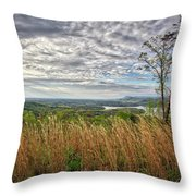 Overlook At Talking Rock Creek Throw Pillow