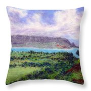 Overlook Throw Pillow by Kenneth Grzesik