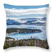Overlooking Norris Point, Nl Throw Pillow