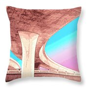 Overpass Two Throw Pillow