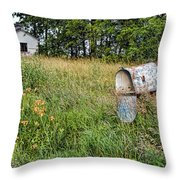 Overtaken By Time Throw Pillow