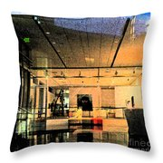 Overture In Throw Pillow