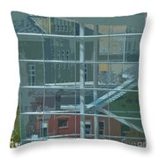 Overture Out Throw Pillow
