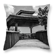 Overview Stop Throw Pillow