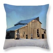 Owasa Barn 4 Throw Pillow