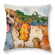 Owen-jenkins Throw Pillow