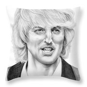 Owen Wilson Throw Pillow