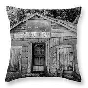 Owen's Store Throw Pillow