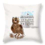 Owl 1 Throw Pillow