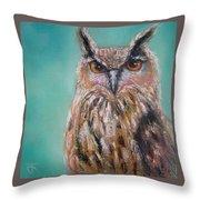 Owl No.5 Throw Pillow