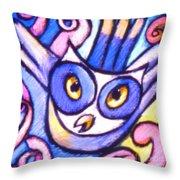 Owlett Throw Pillow