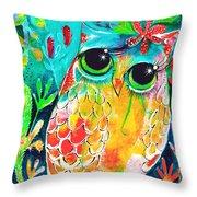 Owlette Throw Pillow