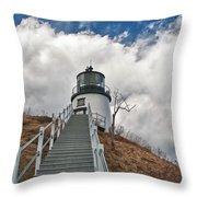 Owl's Head Lighthouse 4764 Throw Pillow