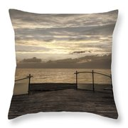 Owner Of A Lonely Heart - In Memory Of Chris Squire  Throw Pillow