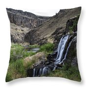Owyhee River 2 Throw Pillow
