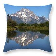 Oxbow Grand Teton Throw Pillow