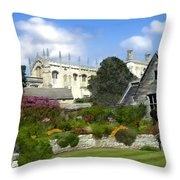Oxford England Throw Pillow