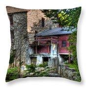 Oxford Mill-summertime Throw Pillow