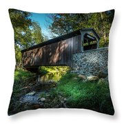 Oxford Pennsylvania Bridge Throw Pillow