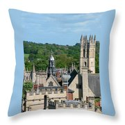 Oxford Tower View Throw Pillow
