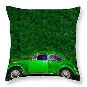 Oyama Bug Throw Pillow