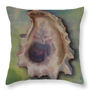 Oyster Shell Throw Pillow