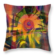 Oz And Poppies Throw Pillow