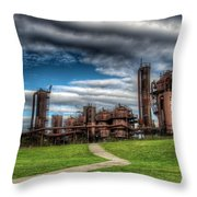Oz Throw Pillow by Spencer McDonald