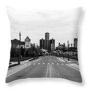 Oz Views Throw Pillow