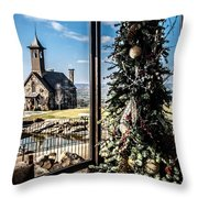 Ozark Christmas  Throw Pillow