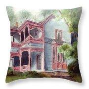 Ozark Cottage Throw Pillow
