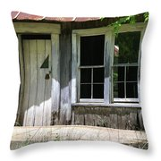 Ozark Homestead Throw Pillow