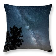 Ozarks Milky Way Throw Pillow